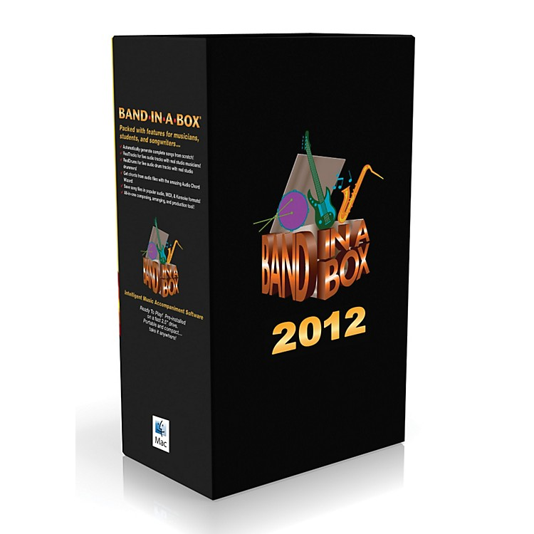 PG Music Band-in-a-Box Pro 2012 MAC EverythingPAK (Mac-Hard Drive)
