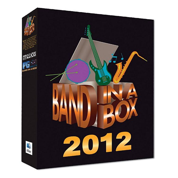 PG MusicBand-in-a-Box Pro 2012 MAC (Mac-DVD)