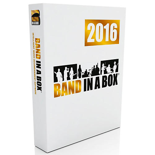 PG Music Band-in-a-Box Pro 2016 (Windows Download)
