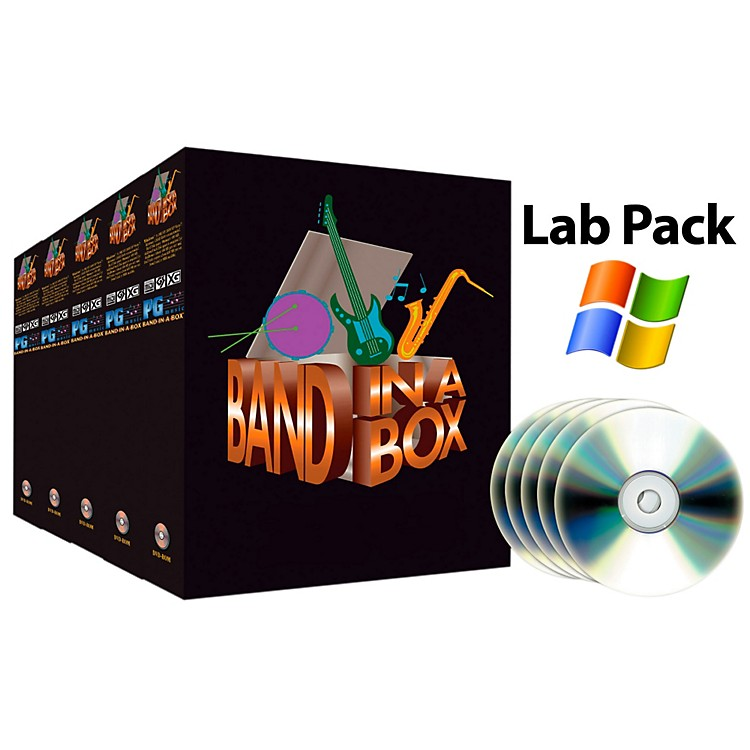 PG Music Band-in-a-Box Pro PC 5-User Lab Pack (for Academic Sale Only)