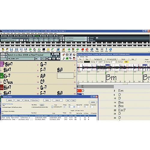 PG Music Band-in-a-Box UltraPAK Upgrade from Any MegaPAK Mac-thumbnail