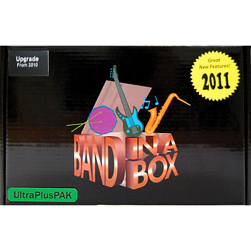 PG Music Band-in-a-Box UltraPlusPAK 2011 Upgrade from Previous Version (WIN)