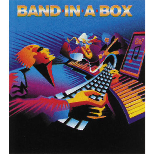 PG Music Band in a Box Upgrade from Earlier Version Windows