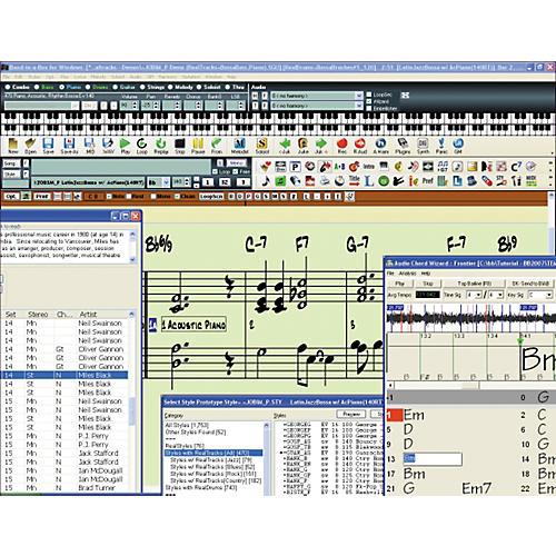 PG Music Band-in-a-Box for Windows 2010 Upgrade-thumbnail