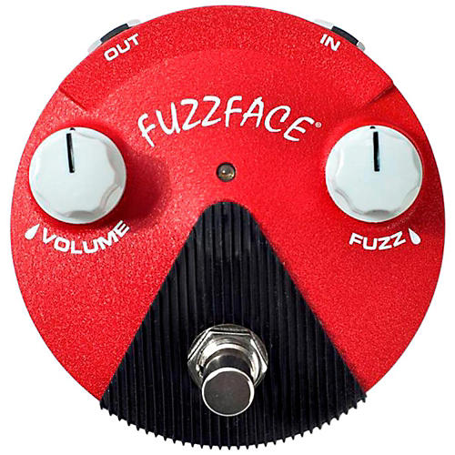 Dunlop Band of Gypsys Fuzz Face Mini Guitar Effects Pedal-thumbnail
