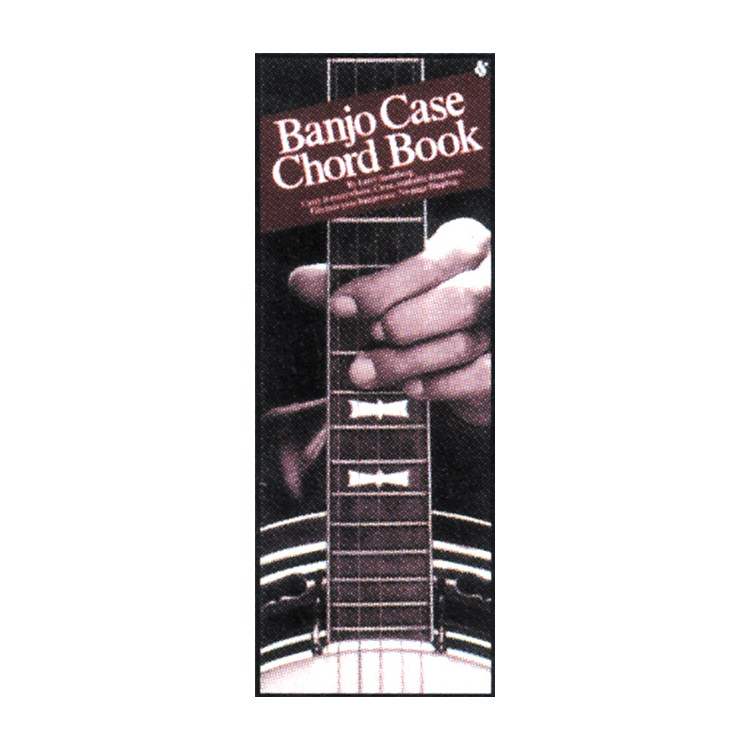 Music Sales Banjo Case Chord Book