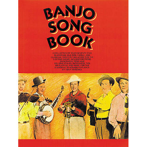 Music Sales Banjo Song Book Music Sales America Series Softcover-thumbnail
