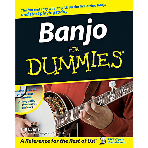 Mel Bay Banjo for Dummies  Book/CD Set