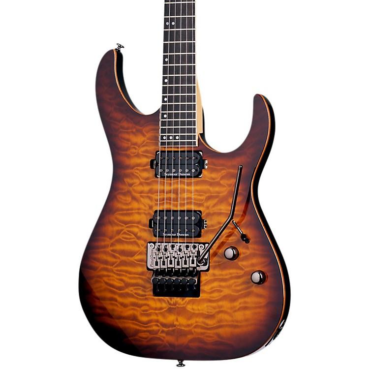 Schecter Guitar ResearchBanshee with Floyd Rose Passive Electric GuitarFaded vintage sunburst