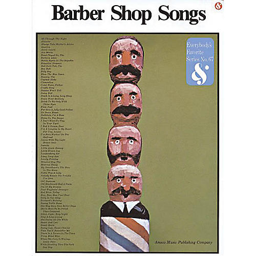Music Sales Barbershop Songs Music Sales America Series Softcover  by Various-thumbnail
