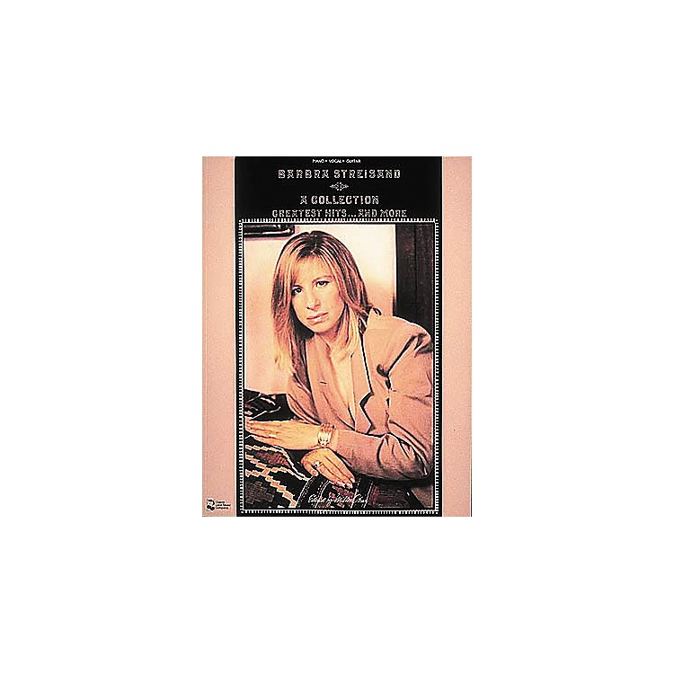 Cherry Lane Barbra Streisand - Collection Greatest Hits . . . And More Piano, Vocal Guitar Songbook