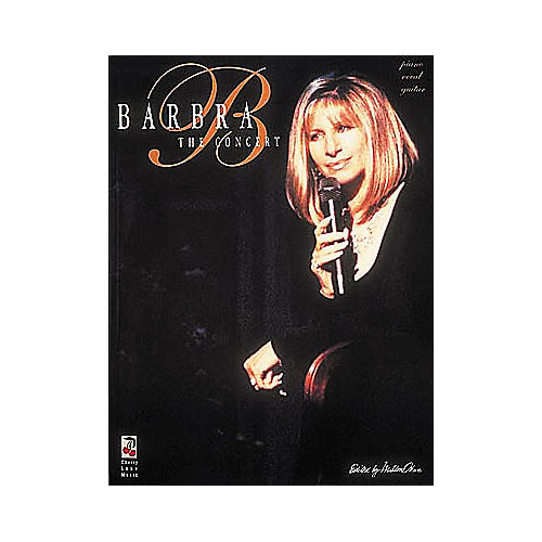 Cherry Lane Barbra Streisand in Concert Book