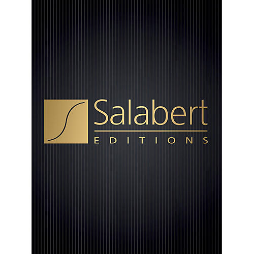 Editions Salabert Barcarolle and Scherzo (Flute and Piano) Woodwind Solo Series Composed by Alfredo Casella-thumbnail