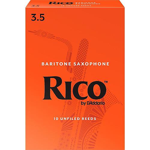 Rico Baritone Saxophone Reeds, Box of 10 Strength 3.5