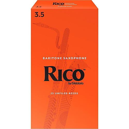 Rico Baritone Saxophone Reeds, Box of 25 Strength 3.5