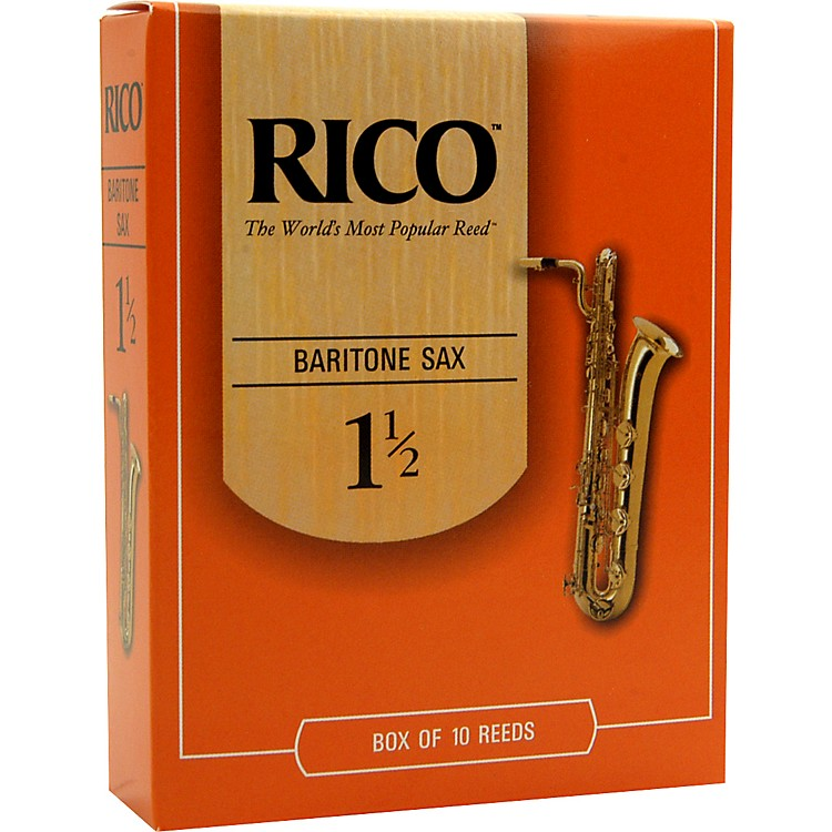 Rico Baritone Saxophone Reeds Strength 3 Box of 10