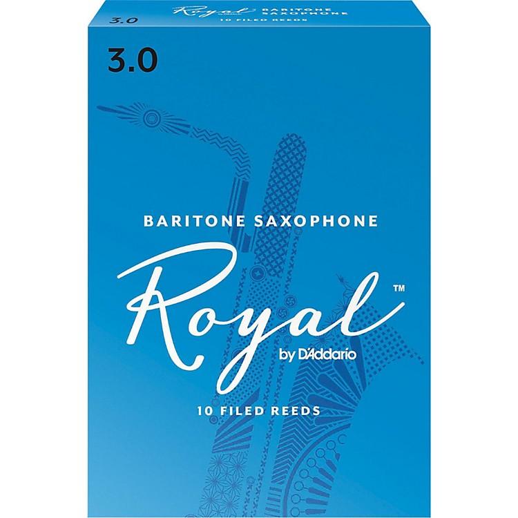 Rico RoyalBaritone Saxophone ReedsStrength 3Box of 10