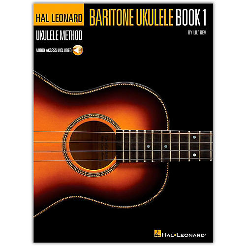 Hal Leonard Baritone Ukulele Method Book 1 Book/CD