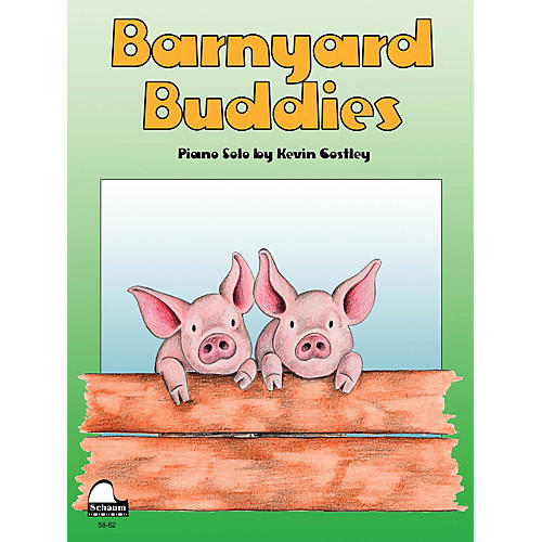 SCHAUM Barnyard Buddies Educational Piano Series Softcover-thumbnail