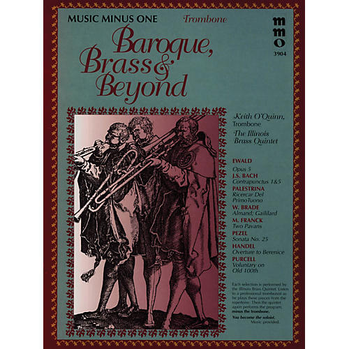 Music Minus One Baroque, Brass & Beyond (Music Minus One Trombone) Music Minus One Series Softcover with CD by Various-thumbnail