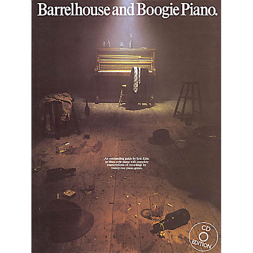 Music Sales Barrelhouse and Boogie Piano Music Sales America Series Softcover with CD Written by Eric Kriss-thumbnail
