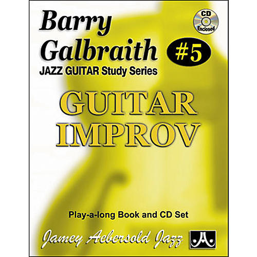 Jamey Aebersold Barry Galbraith - Guitar Improv Book and CD