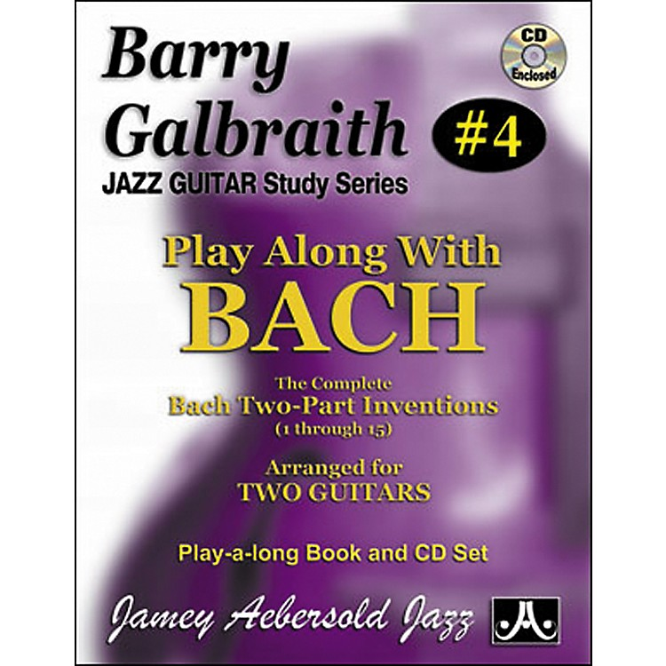 Jamey Aebersold Barry Galbraith Play Along with Bach Book/CD