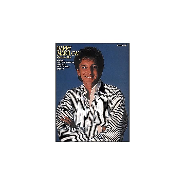 Hal LeonardBarry Manilow Greatest Hits for Easy Piano