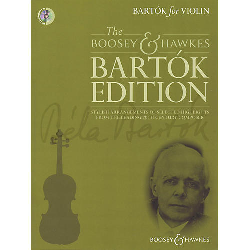 Boosey and Hawkes Bartók for Violin Boosey & Hawkes Chamber Music Series Softcover with CD-thumbnail