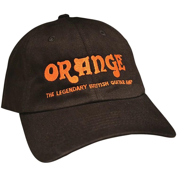 Orange AmplifiersBaseball HatBlack