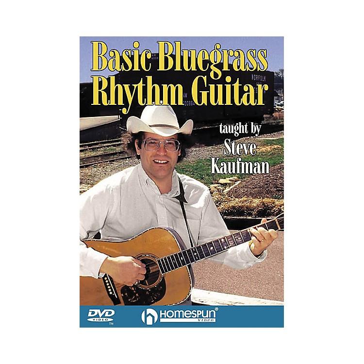 HomespunBasic Bluegrass Rhythm Guitar (DVD)