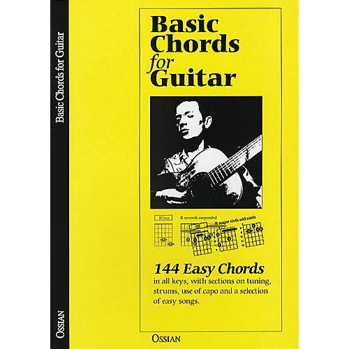 Music Sales Basic Chords for Guitar (144 Easy Chords) Music Sales America Series Softcover Written by John Loesberg-thumbnail