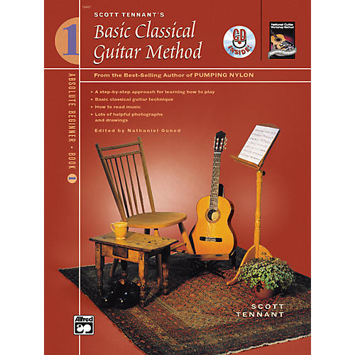 Alfred Basic Classical Guitar Method Book 1 with DVD-thumbnail
