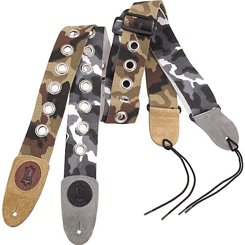 Levy's Basic Cotton Signature Series Guitar Strap With Nickel Eyelets
