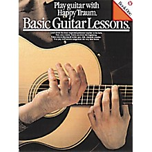 Music Sales Basic Guitar Lessons (Play Guitar with Happy Traum) Music Sales America Series Softcover by Happy Traum