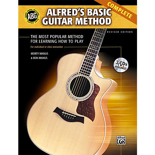 Alfred Basic Guitar Method Complete (Book/3 CDs)