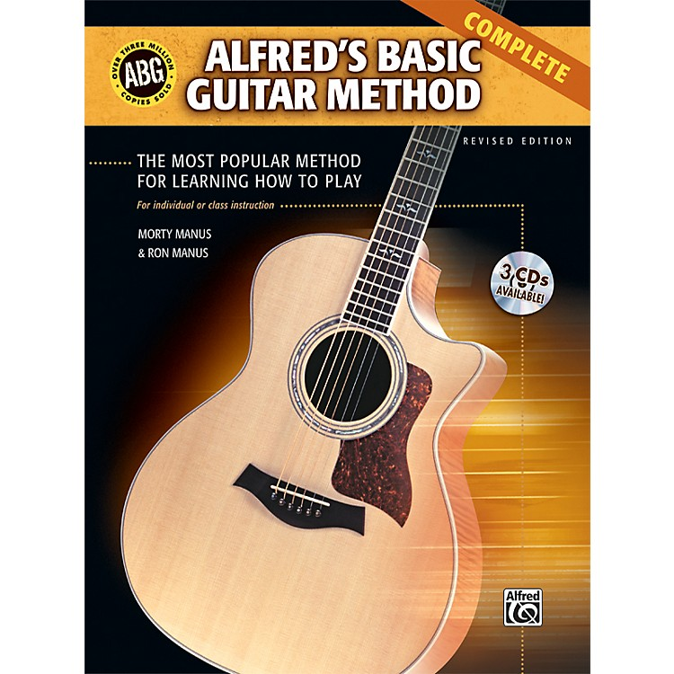 Alfred Basic Guitar Method Complete Book