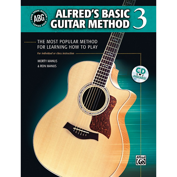 Alfred Basic Guitar Method Level 3 (Book/CD)