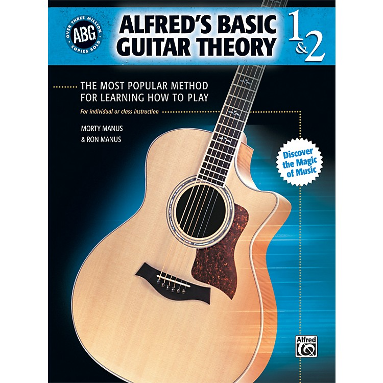 Alfred Basic Guitar Theory Volumes 1 and 2 (Book)