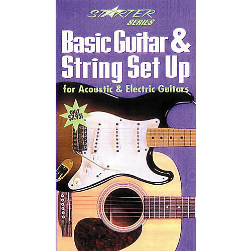 Hal Leonard Basic Guitar and String Set-Up (VHS)