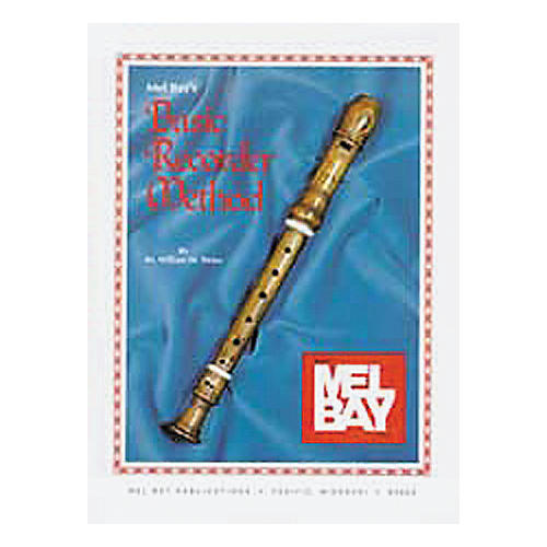 Mel Bay Basic Recorder Method Book-thumbnail