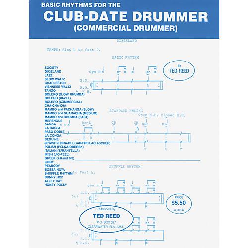 Alfred Basic Rhythms for the Club-Date Drummer Book