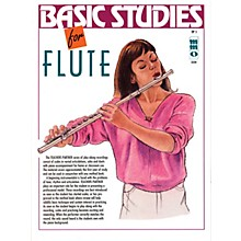 Music Minus One Basic Studies for Flute (Teacher's Partner) Music Minus One Series Softcover with CD