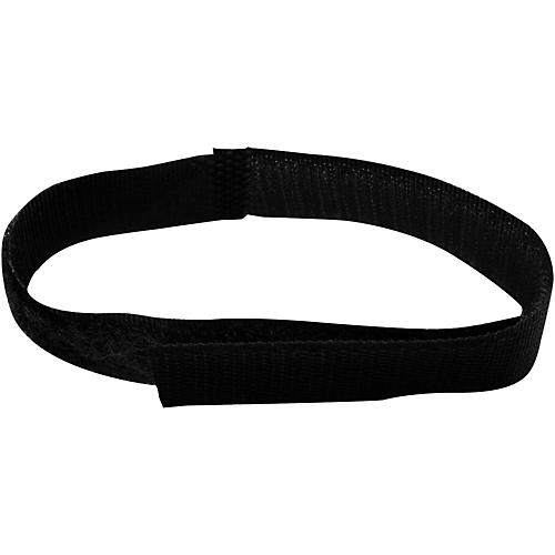 Musician's Gear Basic Style Cable Straps (6 Pack) Black 8 in.