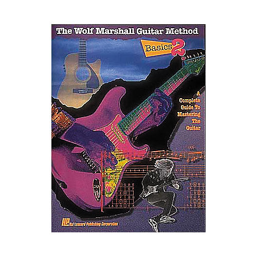 Hal Leonard Basics 2 - The Wolf Marshall Guitar Method Book