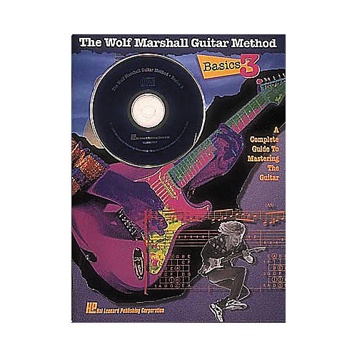 Hal Leonard Basics 3 - The Wolf Marshall Guitar Method (Book and CD Package)
