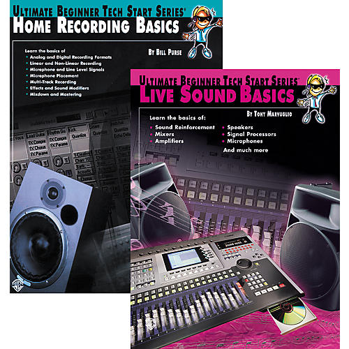Alfred Basics of Live Sound & Home Recording