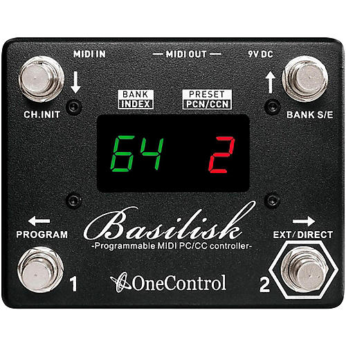 One Control Basilisk Programmable MIDI Controller