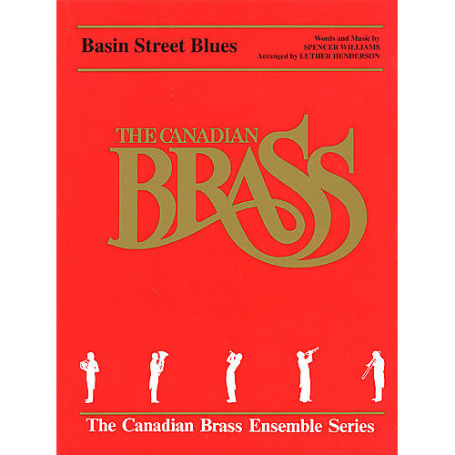 Hal Leonard Basin Street Blues (Score and Parts) Brass Ensemble Series by Spencer Williams-thumbnail