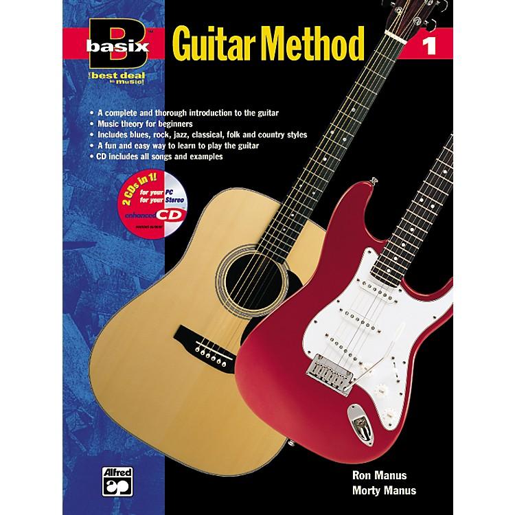 AlfredBasix Guitar Method Book 1